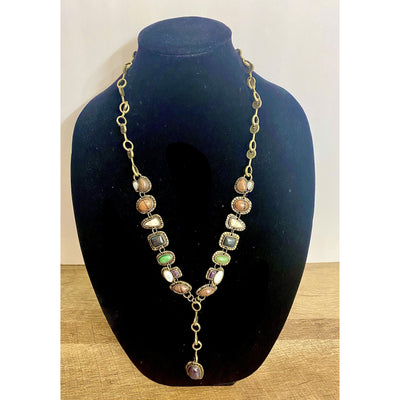 Xenia Long Necklace - Goddess House of Glam Boutique