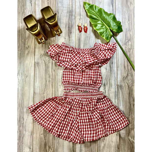 Girl Krush Short Set - Goddess House of Glam Boutique