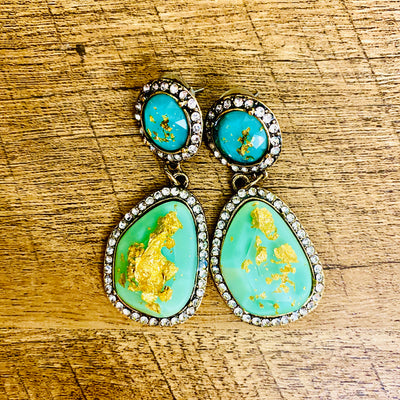 Asiya Dangle Earrings- Goddess House of Glam Boutique