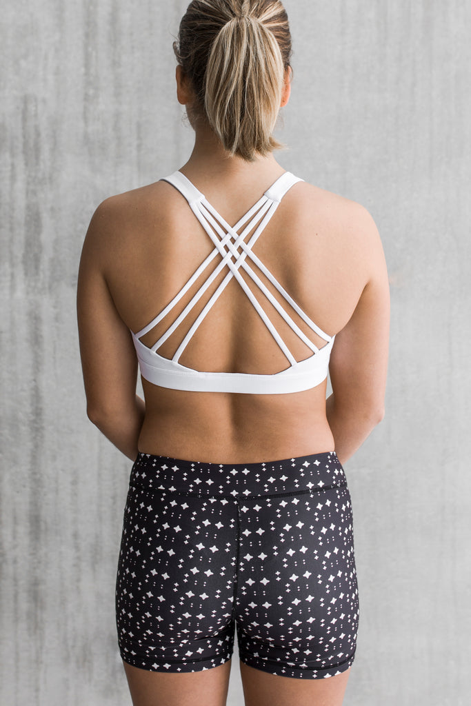 Strappy Crop White