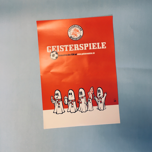 Poster A3 Geisterspiele