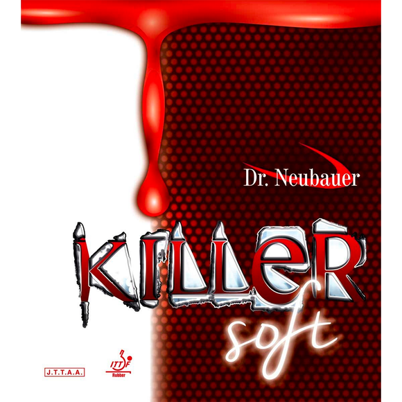 Dr.Neubauer Killer Soft Table Tennis & Ping Pong Rubber, Pick Color & Thickness