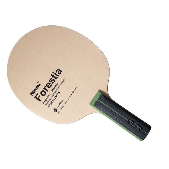 Nittaku Forestia Table Tennis and Ping Pong Blade, Authentic, Choose Handle Type