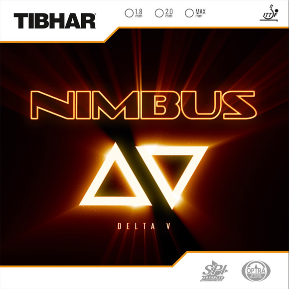 Tibhar Nimbus Delta V Table Tennis & Ping Pong Rubber, Choose Color & Thickness
