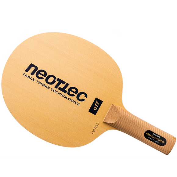 Neottec Amagi Carbon Table Tennis & Ping Pong Blade, Authentic, Pick Handle Type