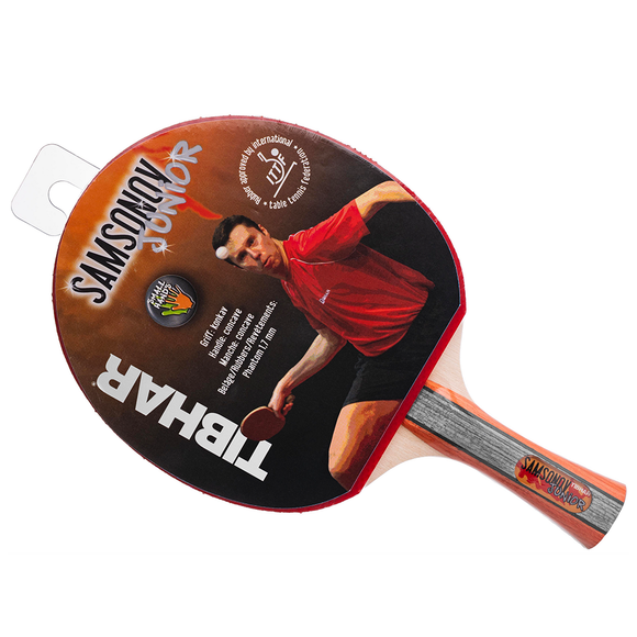 Tibhar Racket Samsonov Premium Junior Table Tennis Rubber - FL Handle Type