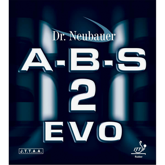 Dr.Neubauer A-B-S 2 Evo Table Tennis & Ping Pong Rubber, Pick Color & Thickness