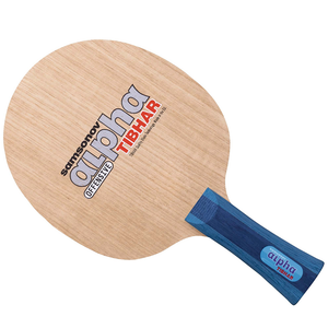 Tibhar Samsonov Alpha Table Tennis & Ping Pong Blade, Authentic Pick Handle Type