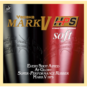 Yasaka Mark V HPS Soft Table Tennis & Ping Pong Rubber, Choose Color & Thickness