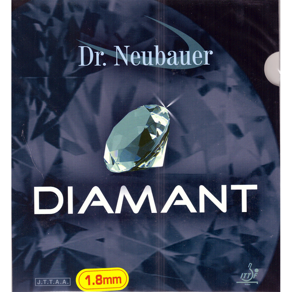 Dr.Neubauer Diamant Table Tennis & Ping Pong Rubber, Choose Color and Thickness