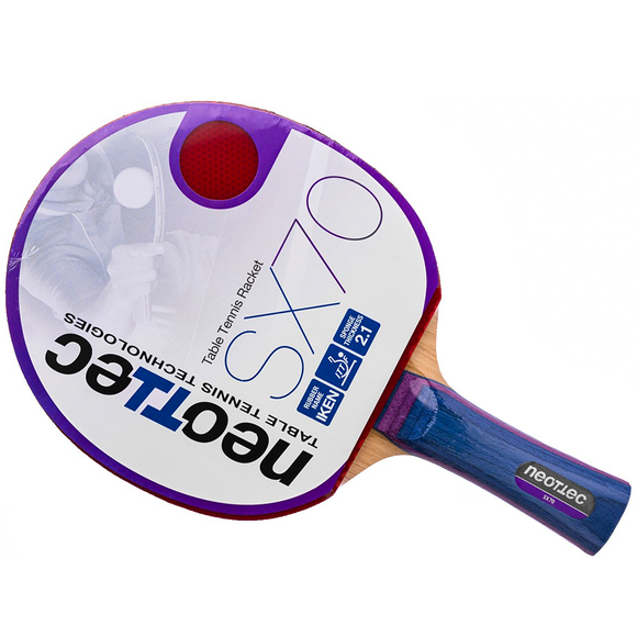 Neottec SX70 Table Tennis & Ping Pong Racket, Choose Handle Type, 100% Authentic!