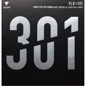 Victas VLB > 301 Table Tennis and Ping Pong Rubber, Choose Color and Thickness