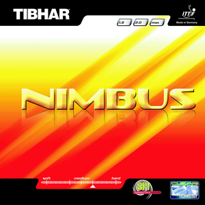 Tibhar Nimbus Table Tennis and Ping Pong Rubber, Choose Your Color and Thickness