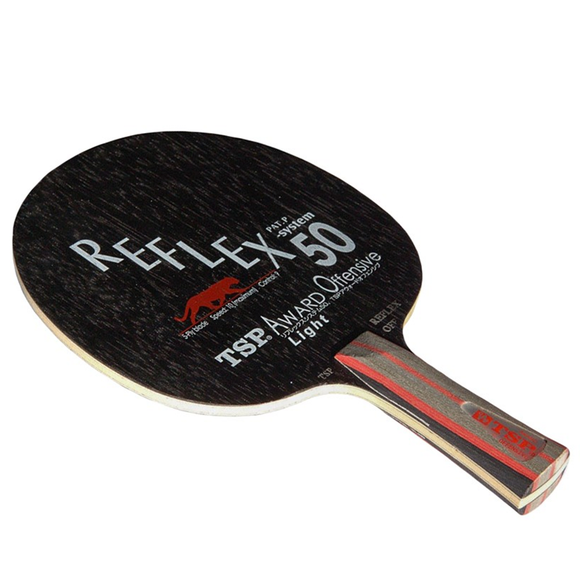 TSP Reflex-50 Award Off Light Table Tennis & Ping Pong Blade - CONC (FL) Handle