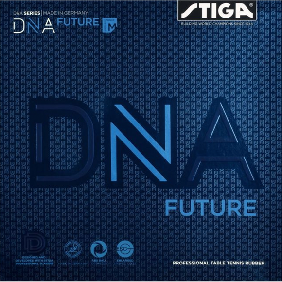 Stiga DNA Future M Table Tennis and Ping Pong Rubber, Choose Color and Thickness