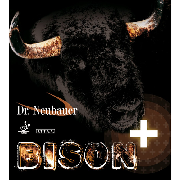 Dr.Neubauer Bison Plus Table Tennis & Ping Pong Rubber, Choose Color & Thickness