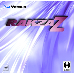 Yasaka Rakza Z Table Tennis & Ping Pong Rubber, Choose Your Color and Thickness