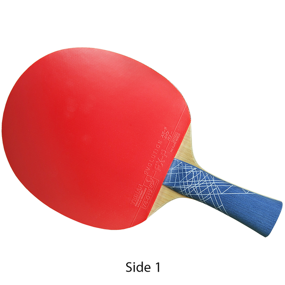 Tibhar Stratus Evolution Table Tennis and Ping Pong Racket - FL Handle Type