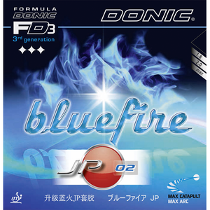 Donic Bluefire JP 02 Table Tennis & Ping Pong Rubber, Choose Color and Thickness