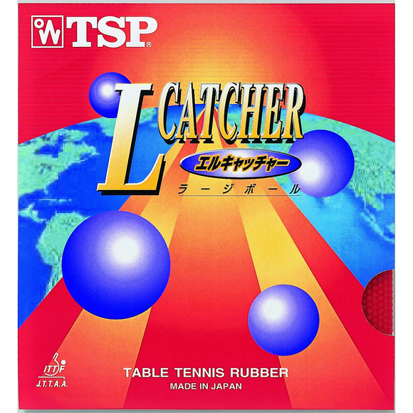 TSP L-Catcher Table Tennis and Ping Pong Rubber, Choose Your Color and Thickness