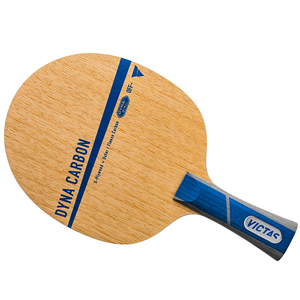 Victas Dyna Five Carbon Table Tennis & Ping Pong Blade, Choose Your Handle Type