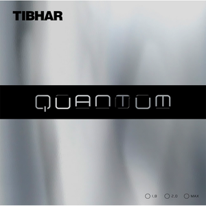 Tibhar Quantum Table Tennis & Ping Pong Rubber, Choose Your Color and Thickness