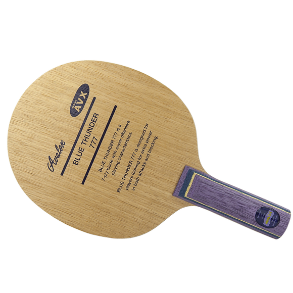 Avalox Blue Thunder 777 Table Tennis & Ping Pong Blade, Choose Your  Handle Type