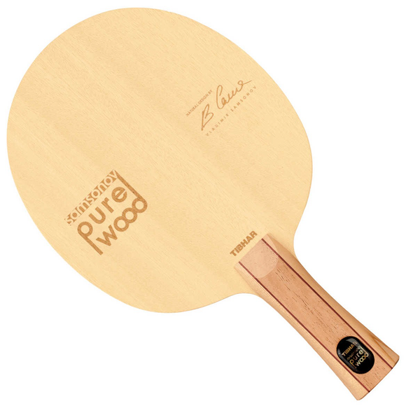 Tibhar Samsonov Pure Wood Table Tennis & Ping Pong Blade, Choose Your Handle Type
