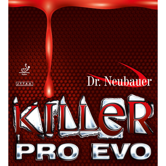 Dr.Neubauer Killer Pro EVO Table Tennis & Ping Pong Rubber, Pick Color and Thickness