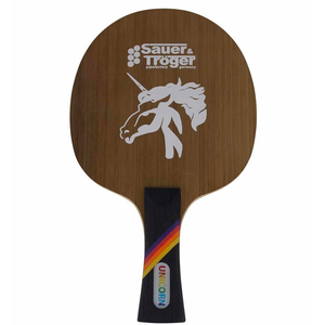 Sauer Tröger Unicorn Table Tennis and Ping Pong Blade, Choose Your Handle Type