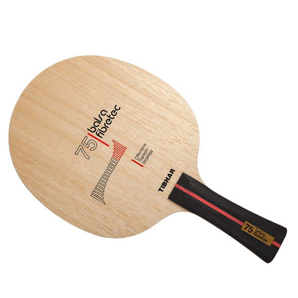 Tibhar Balsa Fibretec 75 Table Tennis & Ping Pong Blade, Choose Your Handle Type