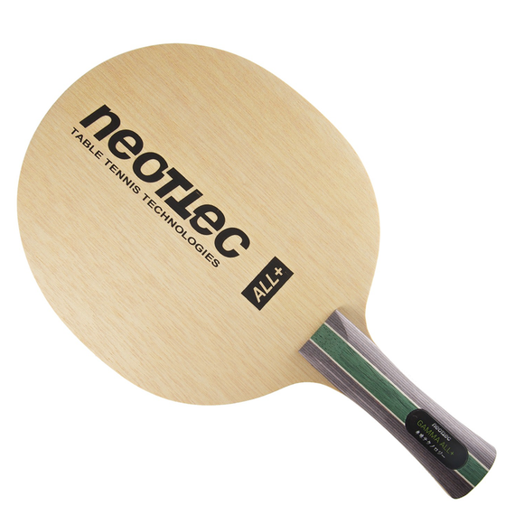 Neottec Gamma ALL+ XS Table Tennis & Ping Pong Blade, Authentic, Pick Handle Type