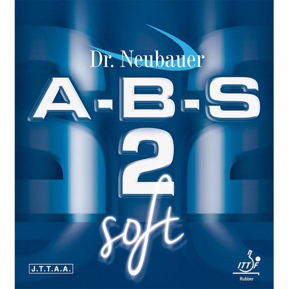 Dr.Neubauer A-B-S 2 SOFT Table Tennis & Ping Pong Rubber, Pick Color & Thickness