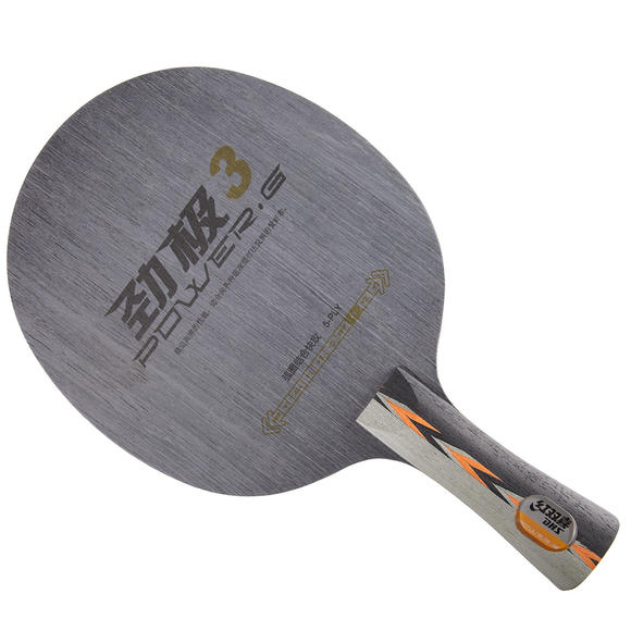DHS Power G3 OFF Table Tennis & Ping Pong Blade, Authentic, Choose Handle Type