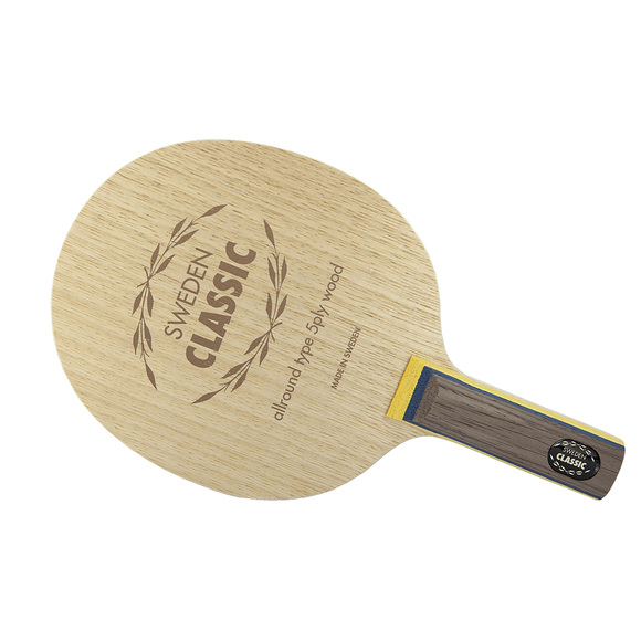 Yasaka Sweden Classic Table Tennis & Ping Pong Blade, Authentic Pick Handle Type