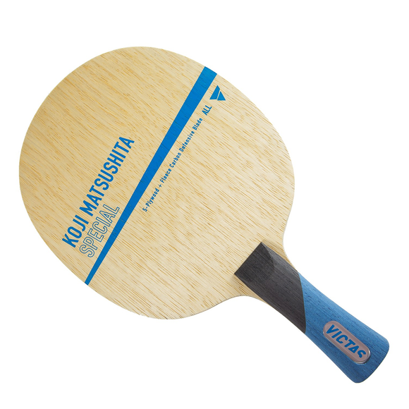 Victas Koji Matsushita Special Table Tennis & Ping Pong Blade, Pick Handle Type