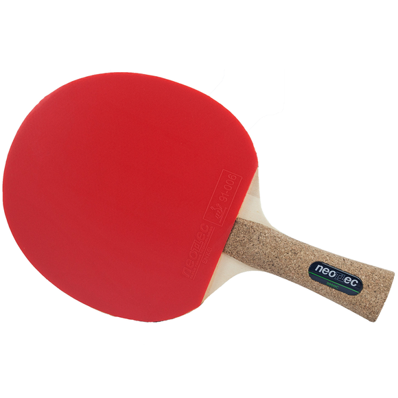 Neottec 3000C Table Tennis and Ping Pong Racket, Authentic, Choose Handle Type