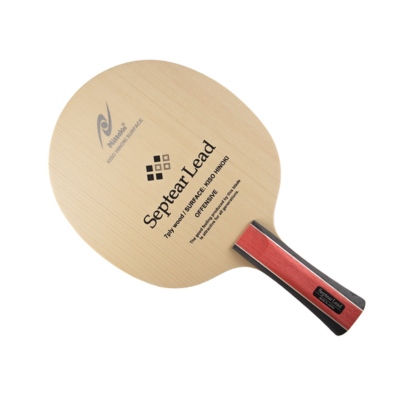 Nittaku Septear Lead Table Tennis and Ping Pong Blade with CONC (FL) Handle Type
