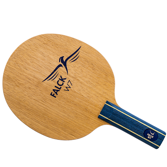 Yasaka Falck W7 Table Tennis and Ping Pong Blade, Authentic, Choose Handle Type