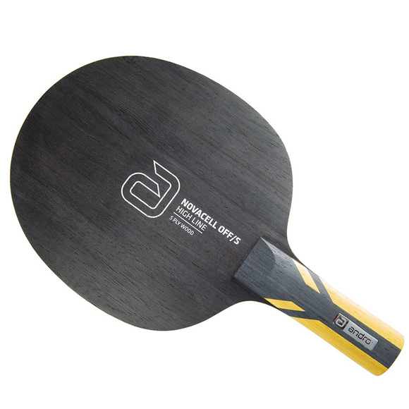 Andro Novacell OFF/S Table Tennis & Ping Pong Blade, Authentic, Pick Handle Type