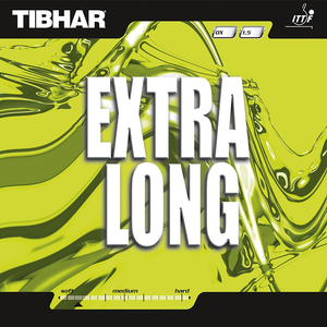 Tibhar Extra Long Table Tennis & Ping Pong Rubber, Choose Your Color & Thickness