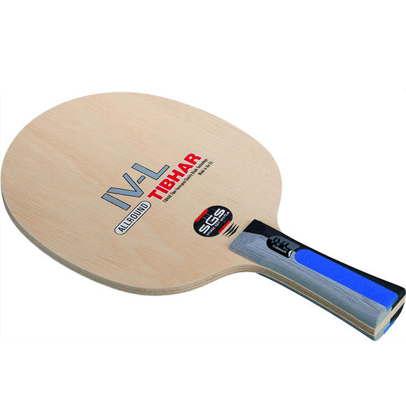 Tibhar IV-L SGS Table Tennis and Ping Pong Blade, Authentic, Choose Handle Type