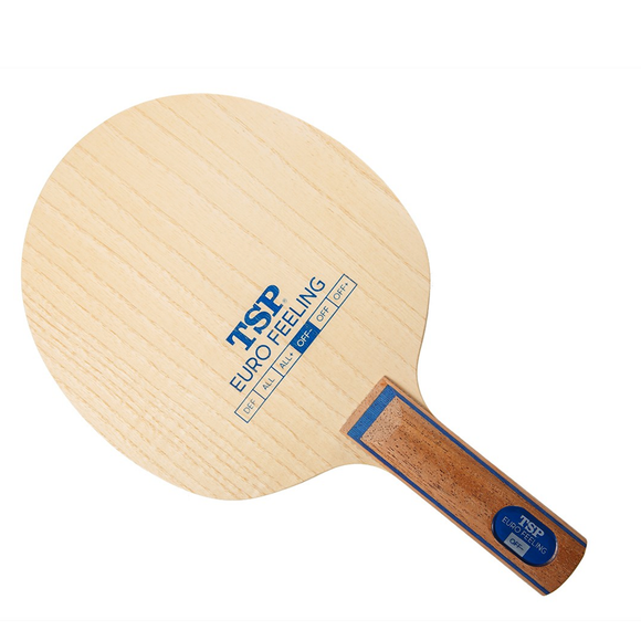 TSP Euro Feeling OFF- Table Tennis & Ping Pong Blade, Authentic, Choose Handle Type