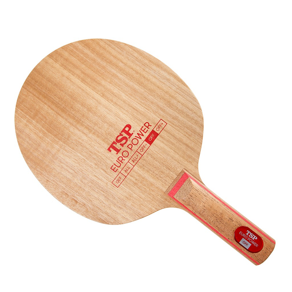 TSP Euro Power OFF Table Tennis & Ping Pong Blade, Authentic, Choose Handle Type