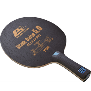 TSP Black Balsa 5.0 Table Tennis & Ping Pong Blade, Authentic, Choose Handle Type