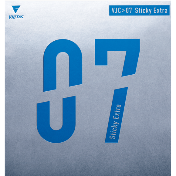 Victas VJC > 07 Sticky Extra Table Tennis and Ping Pong Rubber, Choose Variation
