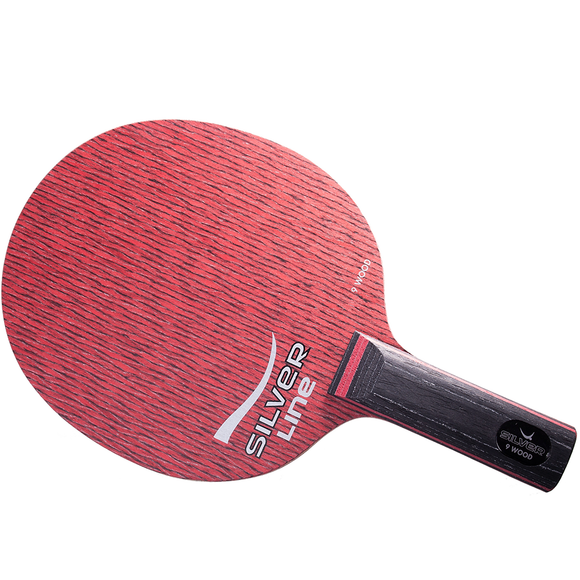 Yasaka Silver 9 Table Tennis and Ping Pong Blade, Authentic, Choose Handle Type