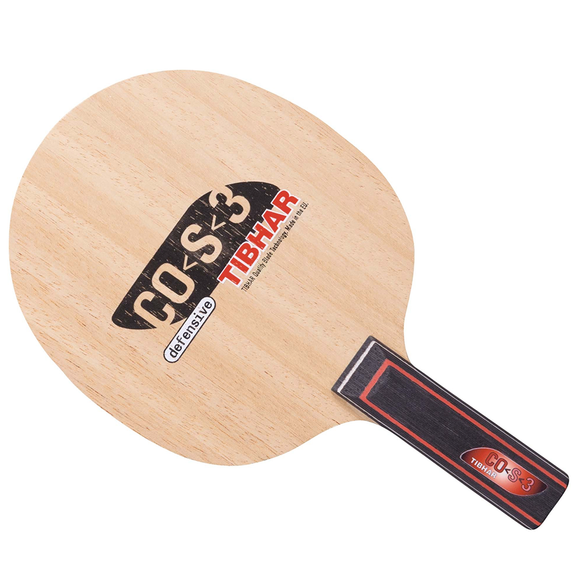 Tibhar CO-S-3 Defence ST Table Tennis and Ping Pong 3-Ply Wood Blade, Authentic