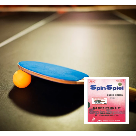 Juic Spinspiel Table Tennis & Ping Pong Rubber, Choose Your Color and Thickness