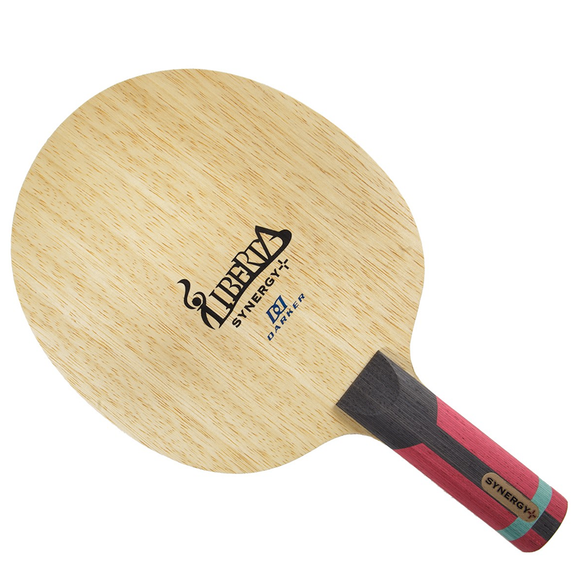 Darker Liberta Synergy Plus Table Tennis and Ping Pong Blade, Choose Handle Type